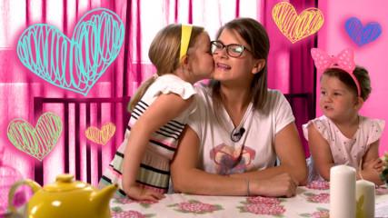 Как да покажем обичта си на децата?