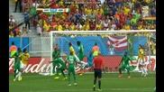 Колумбия 2:1 Кот д' Ивоар (бг аудио) Мондиал 2014