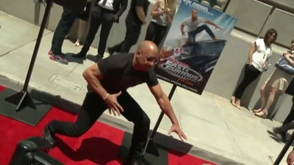 Vin Diesel In A Hot New Ride Keeps