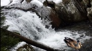 Каньона на водопадите през зимата