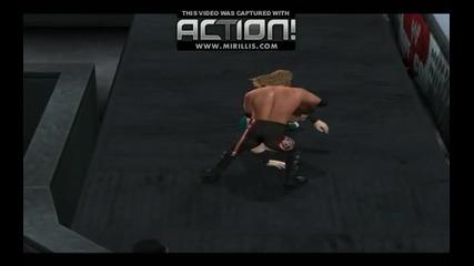smackdown vs raw 2011-edge vs sheamus
