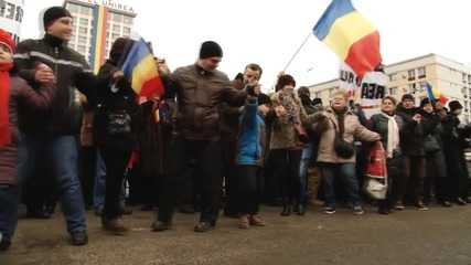 Romania: Protesters call for 'Bessarabia' union on anniversary of United Principalities unification