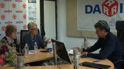 Британският посланик Ема Хопкинс при Ники Кънчев по Дарик