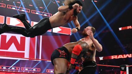 Dean Ambrose vs. Seth Rollins vs. Bobby Lashley - Intercontinental Championship Triple Threat Match: Raw, Jan. 14, 2019