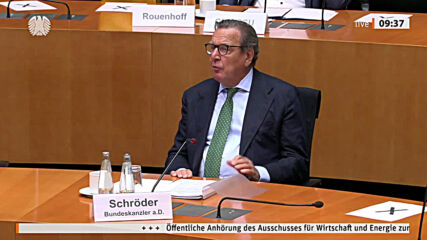 Germany: Schroeder condemns US Nord Stream sanctions and calls for counter-sanctions