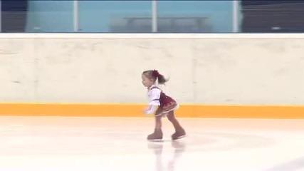 Само на 2,5 години, а открива състезание на Олимпиадата!