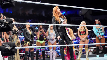 Becky Lynch chooses her Survivor Series replacement: Wal3ooha, 15 November, 2018