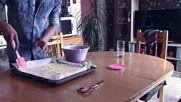 ВКУСОТИЯ ДО ШИЯ - Как се прави пандишпанов блат