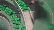 Massive Cinderella Castle Built From 50,000 LEGO Bricks
