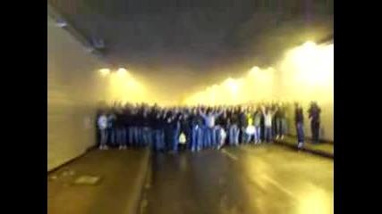 Derbymarsch Im Tunnel 12.05.2007 Borussia Dortmund.flv