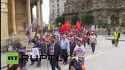 UK: Pro-Kurdish rally blocks BBC HQ, condemns Turkish state
