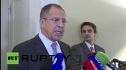 Germany: Lavrov suggests removal of heavy weaponry from Ukraine frontlines