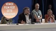 Guillermo Del Toro talks sex & masturbation in Venice