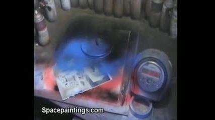 Рисуване На Картина За 1 Минута