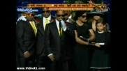 Част от погребението на Майкъл Джексън