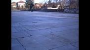 Скейт Трик - Ollie Over The Stone Cube