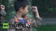 Китай: Изпращат деца във военни лагери, за да не се пристрастяват към интернет