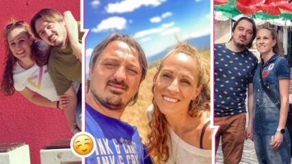 """Топло, солено, романтично: Българското лято на Елена и Пламен от """"Един за друг"""""""