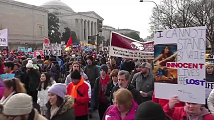 USA: Tens of thousands attend pro-life rally