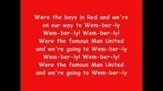 Glory Glory Man United - Караоке