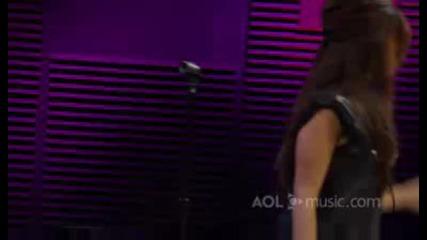 Ashley Tisdale - Hot Mess - Live Aol Sessions ( Високо Качество)