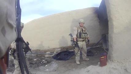 Пехотинец оцелява след изстрел в главата от талибан