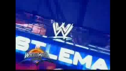 Wrestlemania 24 - Trailer