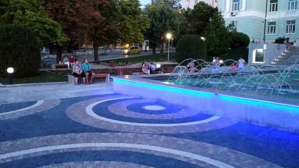 Новият фонтан в Шумен