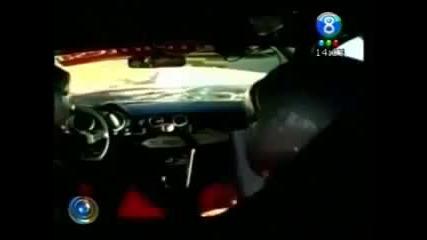 Fatal Crash. Rally car hits Horse !!!