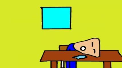 Заспиване в час (анимация)