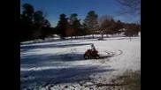 Atv v snega