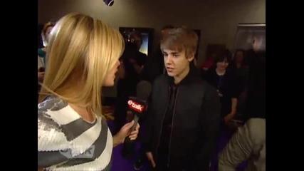 Justin Bieber и малката му сестра