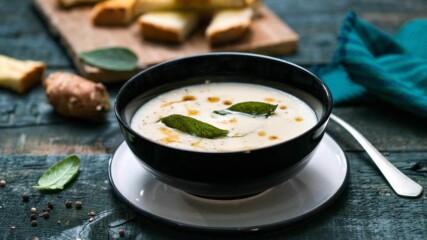 Супа от земна ябълка със салвия | Бон Апети | 24Kitchen Bulgaria