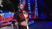 Rob Van Dam attacks Bad News Barrett: Wwe Main Event, June 3, 2014