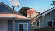 Popravka na televizor Neveroiatniiat sviat na Gymbol Cartoon Network