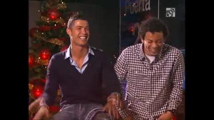 Коледен смях с Реал Мадрид
