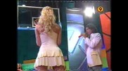 Блондинка С Къса Пола Цели Кош