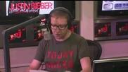 - Джъстин Бийбър видеочат радио Nrj Франция