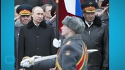Putin Meets With Military Leaders, Says War Games Will Continue