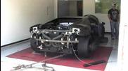 Lamborghini Gallardo откача на dyno test