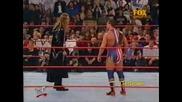 Kurt Angle vs. Edge (wcw United States Championship Match) - Wwf Raw 12.11.2001