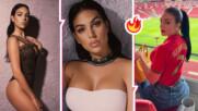 Пожарът в сърцето на Роналдо: Джорджина Родригес пали страстите с нова порция секси снимки
