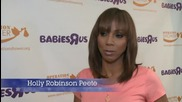 Holly Robinson Peete Shows Up For 'Operation Shower'