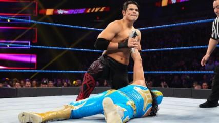 Gran Metalik vs. Humberto Carrillo: WWE 205 Live, Jan. 22, 2019