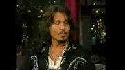 Johnny Depp В Тв Шоу