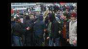 Протестът Пред Народното Събрание На 14.01.09г.