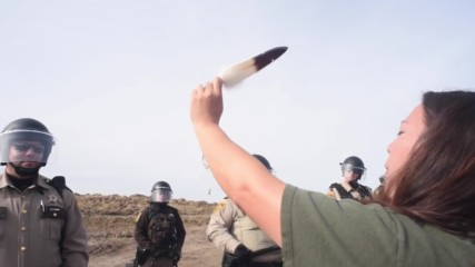 USA: National Guard clears protesters from North Dakota sacred site