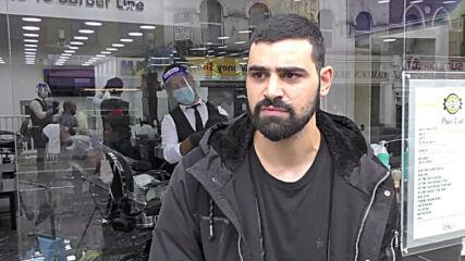 UK: Barbershops, pubs, restaurants reopen in London prompting queues