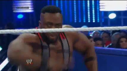 Големият Лангстън и Марк Хендри срещу Къртис Аксел и Райбак / Разбиване 29.11.2013г.