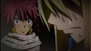 Natsu just hates seeing Lucy cry